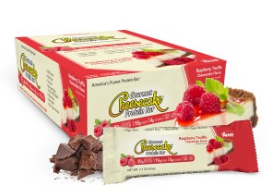Image of Gourmet Cheesecake Protein Bar Raspberry Truffle