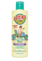 Image of Earth's Best Shampoo & Body Wash Soothing Lavender