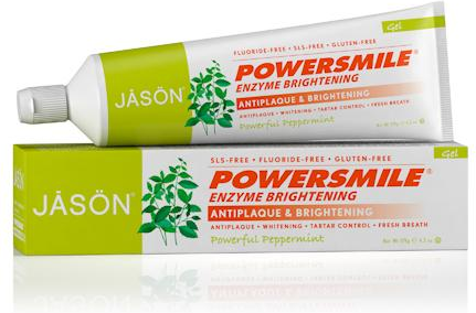 Image of Toothpaste PowerSmile Enzyme Brightening Gel Fluoride Free