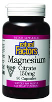 Image of Magnesium Citrate 150 mg