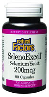 Image of SelenoExcell Selenium Yeast 200 mcg