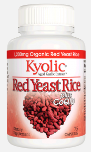 Image of Kyolic Red Yeast Rice plus CoQ10 400/20 mg