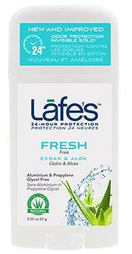 Image of Lafe's Deodorant Twist Stick Fresh Cedar & Aloe