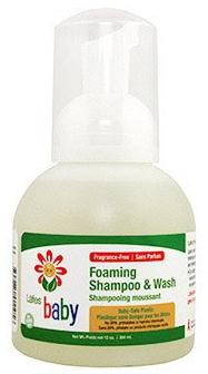 Image of Lafe's Baby Foaming Shampoo & Wash Organic