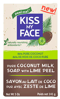 Image of Bar Soap Pure Coconut Milk with Lime Peel