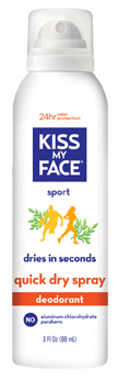 Image of Deodorant Quick Dry Spray Sport