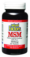 Image of MSM 1000 mg Tablets
