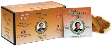 Image of Jason Winters Tea Bag Cinnamon Flavor with stevia