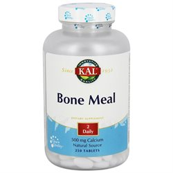 Image of Bone Meal 500 mg Tablet (2 Daily)