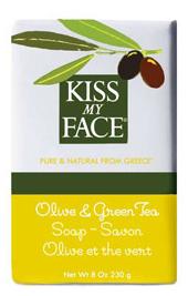 Image of Bar Soap Olive & Green Tea