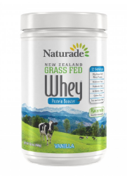 Image of New Zealand Grass Fed Whey Protein Booster Powder Vanilla