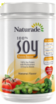 Image of 100% Soy Protein Booster Powder Natural