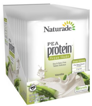 Image of Pea Protein Vegan Shake Powder Vanilla Packet