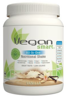 Image of Vegan Smart All-In-One Nutritional Shake Powder Vanilla