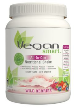 Image of Vegan Smart All-In-One Nutritional Shake Powder Wild Berries