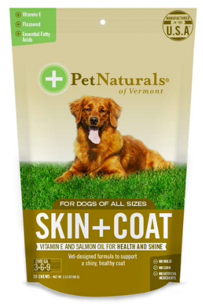 Image of Skin + Coat for Dogs Chewable (Omega 3-6-9)