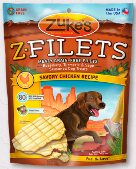 Image of Z-Filet Treats for Dogs Savory Chicken