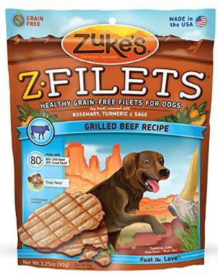 Image of Z-Filet Treats for Dogs Grilled Beef