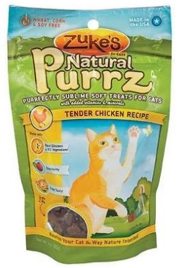Image of Natural Purrz Soft Treats for Cats Tender Chicken