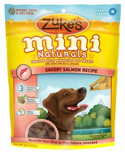 Image of Mini Naturals Moist Treats for Dogs Salmon
