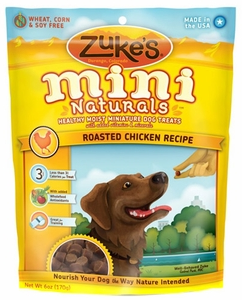 Image of Mini Naturals Moist Treats for Dogs Chicken