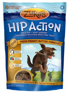 Image of Hip Action Moist Treats for Dogs Peanut Butter