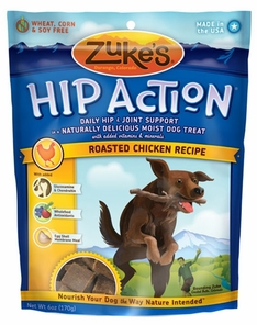 Image of Hip Action Moist Treats for Dogs Roasted Chicken