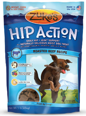 Image of Hip Action Moist Treats for Dogs Roasted Beef