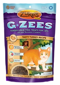 Image of G-Zees Hip & Joint Support Treats for Cats Tasty Turkey