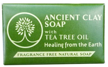 Image of Ancient Clay Soap with Tea Tree Oil