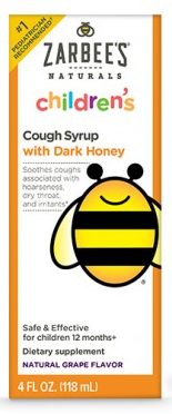 Image of Children's Cough Syrup with Dark Honey Grape