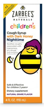 Image of Children's Cough Syrup with Dark Honey Nighttime Grape