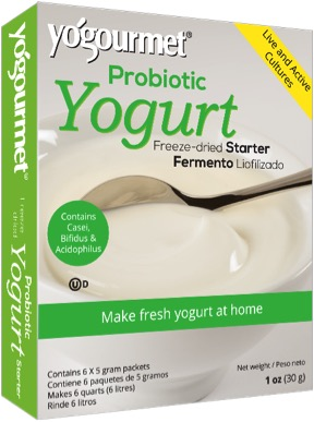 Image of Yogourmet Yogurt Starter Freeze-Dried with Probiotics