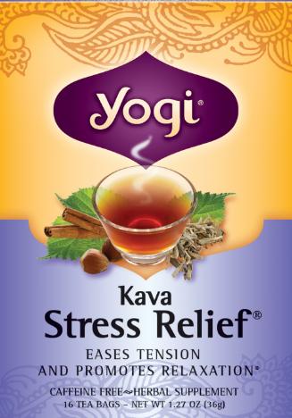 Kava Stress Relief Tea 16 Bags