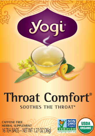 Image of Throat Comfort Tea