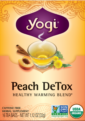 Image of Peach DeTox Tea