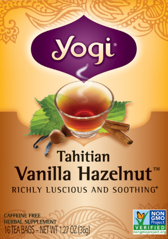 Image of Tahitian Vanilla Hazelnut Tea