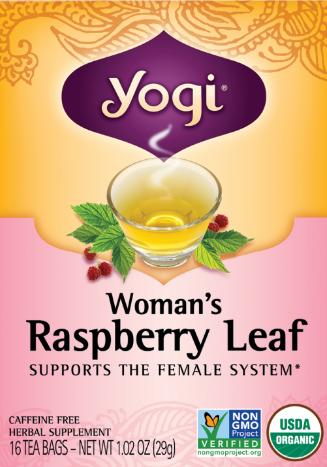 Image of Woman's Raspberry Leaf Tea
