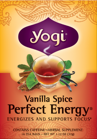 Image of Vanilla Spice Perfect Energy Tea