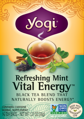 Image of Refreshing Mint Vital Energy Tea