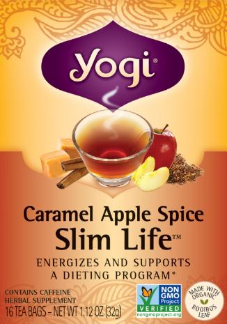 Image of Caramel Apple Spice Slim Life Tea