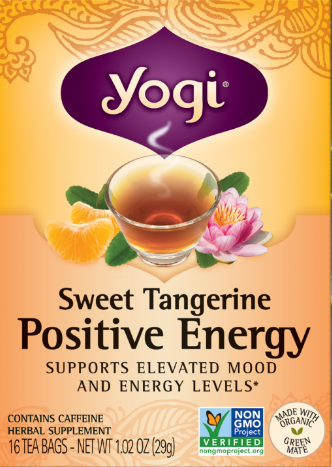Image of Sweet Tangerine Positive Energy Tea