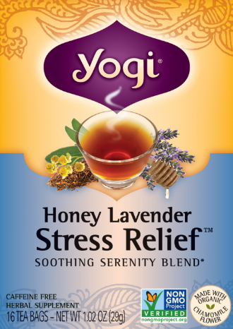 Image of Honey Lavender Stress Relief Tea