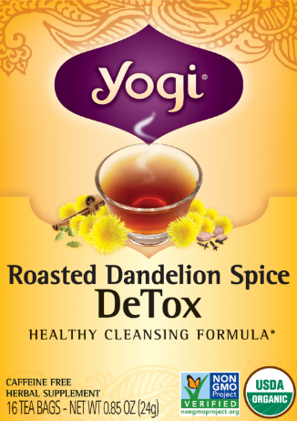 Image of Roasted Dandelion Spice DeTox Tea