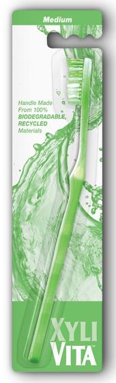 Image of Medium Toothbrush Key 6 pack Lime Green