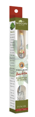 Image of Wisdom of the Ancients Yerba Mate Bombila Strainer Straw for Loose Tea