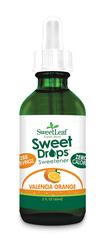 Image of SweetLeaf Sweet Drops Liquid Stevia Valencia Orange