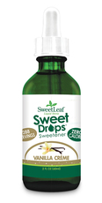 Image of SweetLeaf Sweet Drops Liquid Stevia Vanilla Creme