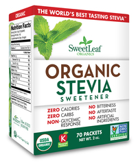 Image of SweatLeaf Organic Stevia Packet