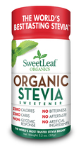 Image of SweetLeaf Organic Stevia Powder Shaker